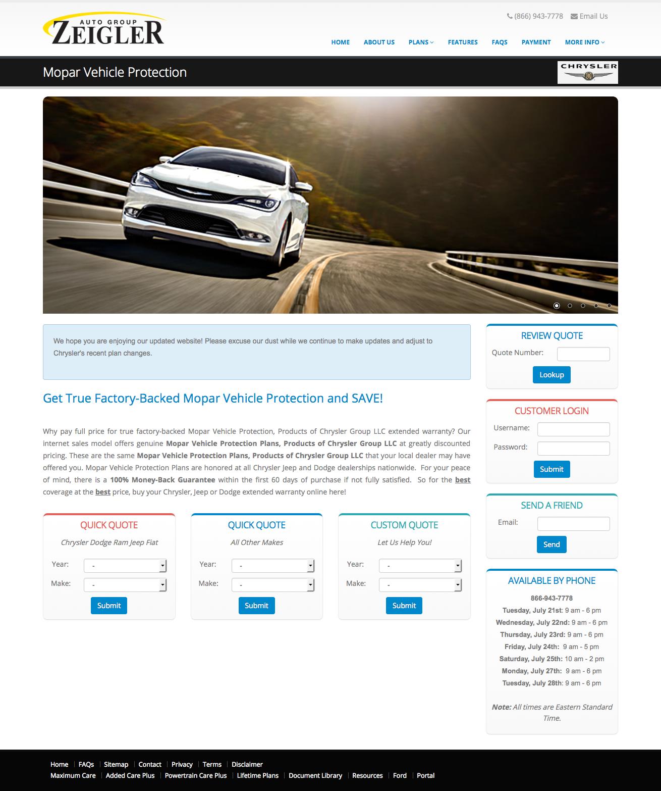 Chrysler Servic