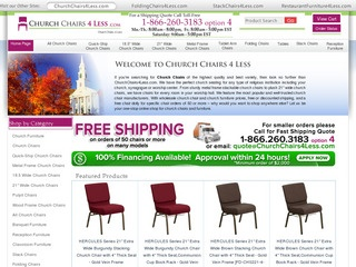 Church Chairs 4 Less / Belnick Inc.