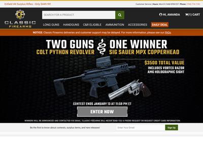 Classic Firearms Reviews | 31,232 Reviews of Classicfirearms com
