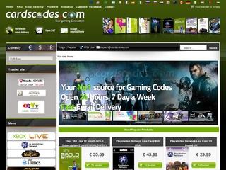 cardscodes.com