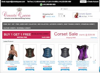 8a9e8483e0 Corsets Queen Reviews