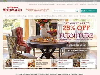 Cost Plus World Market Reviews 42 Reviews Of Worldmarket Com Home
