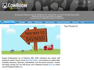 CowBoom (a Best