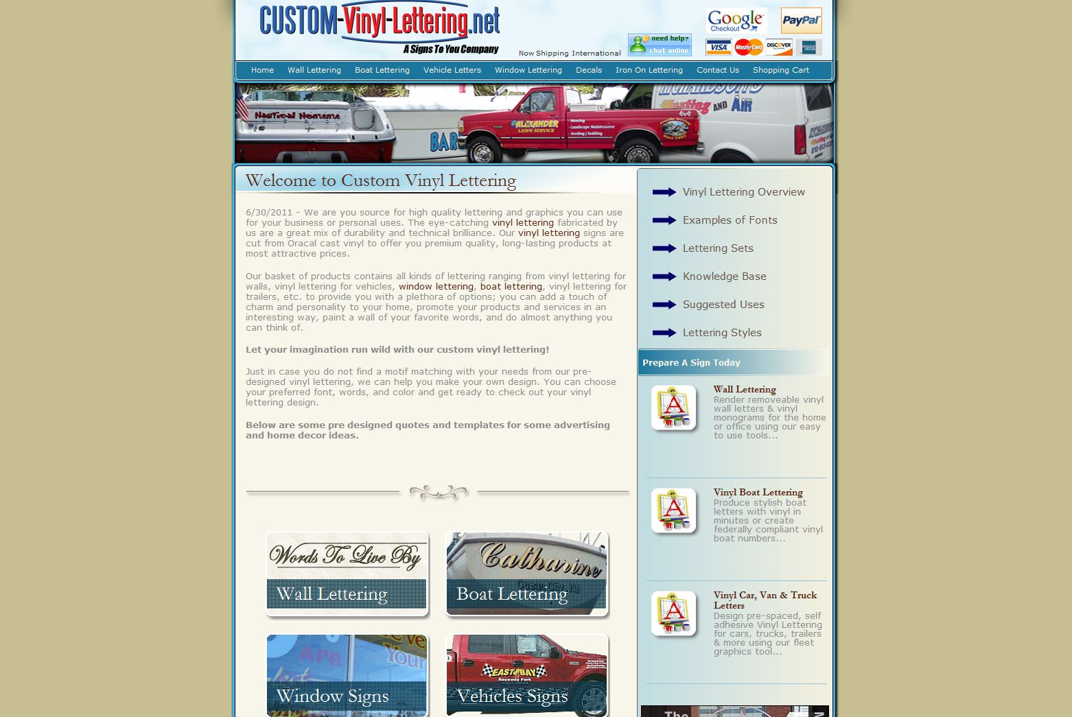 Customvinylletteringnet Rated  Stars By  Consumers - Custom vinyl lettering