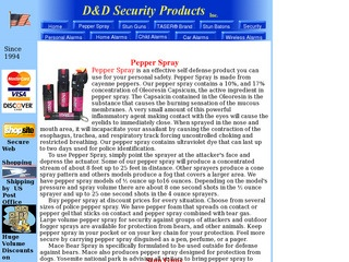 D&D Security Pr