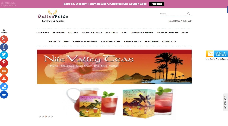 DeliceVille.com