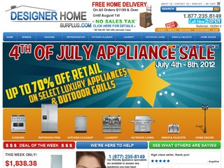 Designer Home Surplus Rated 5/5 stars by 18 Consumers ...