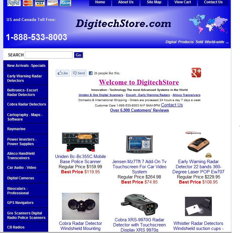 DigitechStore