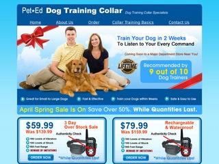 Dog Shock Train