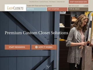 Easyclosets rated 5 5 stars by 8 consumers easyclosets for Easyclosets
