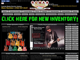 Ed Roman Guitar