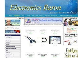 Electronics Bar