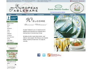 European Tablew