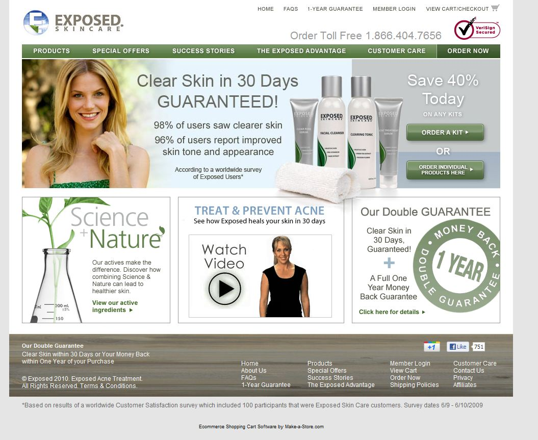 Exposed Skin Ca