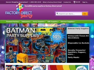 Factory Direct Party, Kingston. 1K likes. Factory Direct Party offers incredible party supplies at factory direct prices! Jump to. Sections of this page. orimono.ga Carnival Supply Store. Price Range $$ Opens tomorrow. Closed Now. People. 1, likes. 2 visits. Related Pages. Living Torah/5(22).