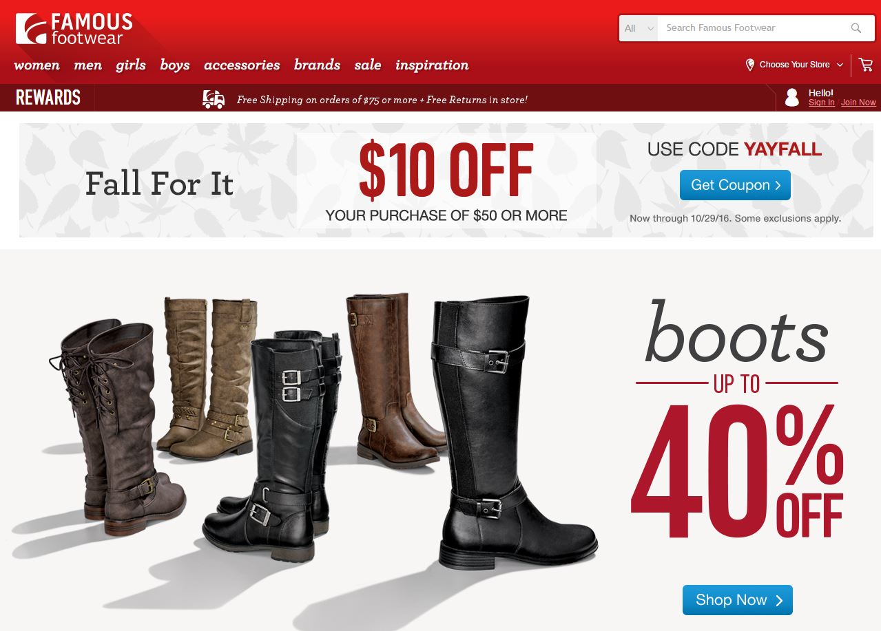 Famous Footwear Reviews 4 822 Reviews Of Famousfootwear
