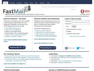 FastMail / Oper