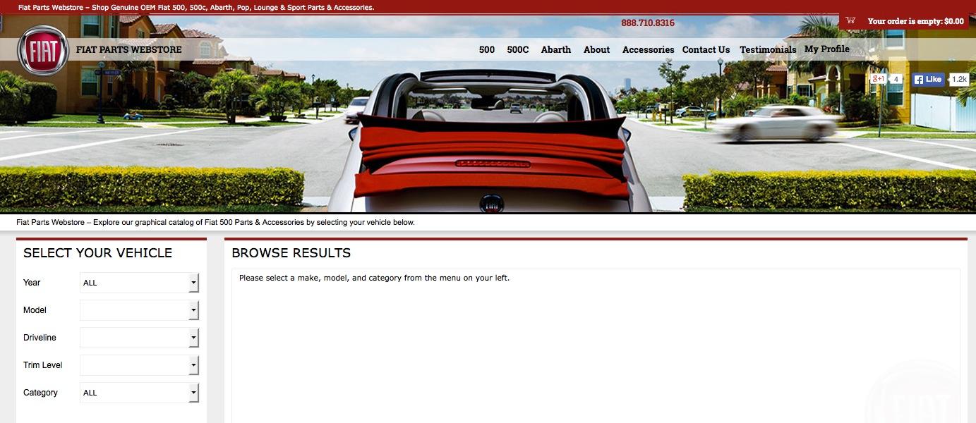 Fiat Parts Webstore Reviews | Consumer Reviews of Fiatpartswebstore