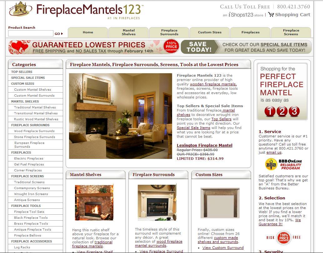 Fireplace Mante