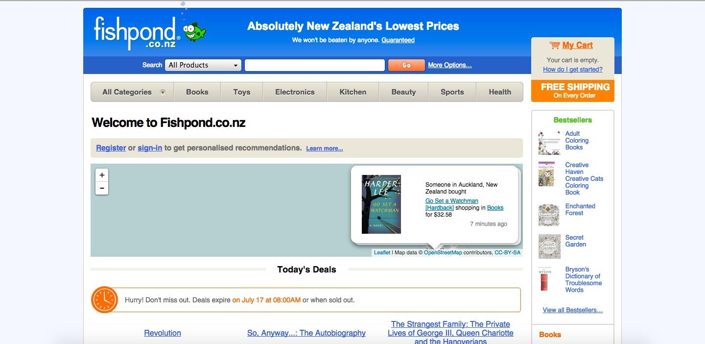 Fishpond NZ