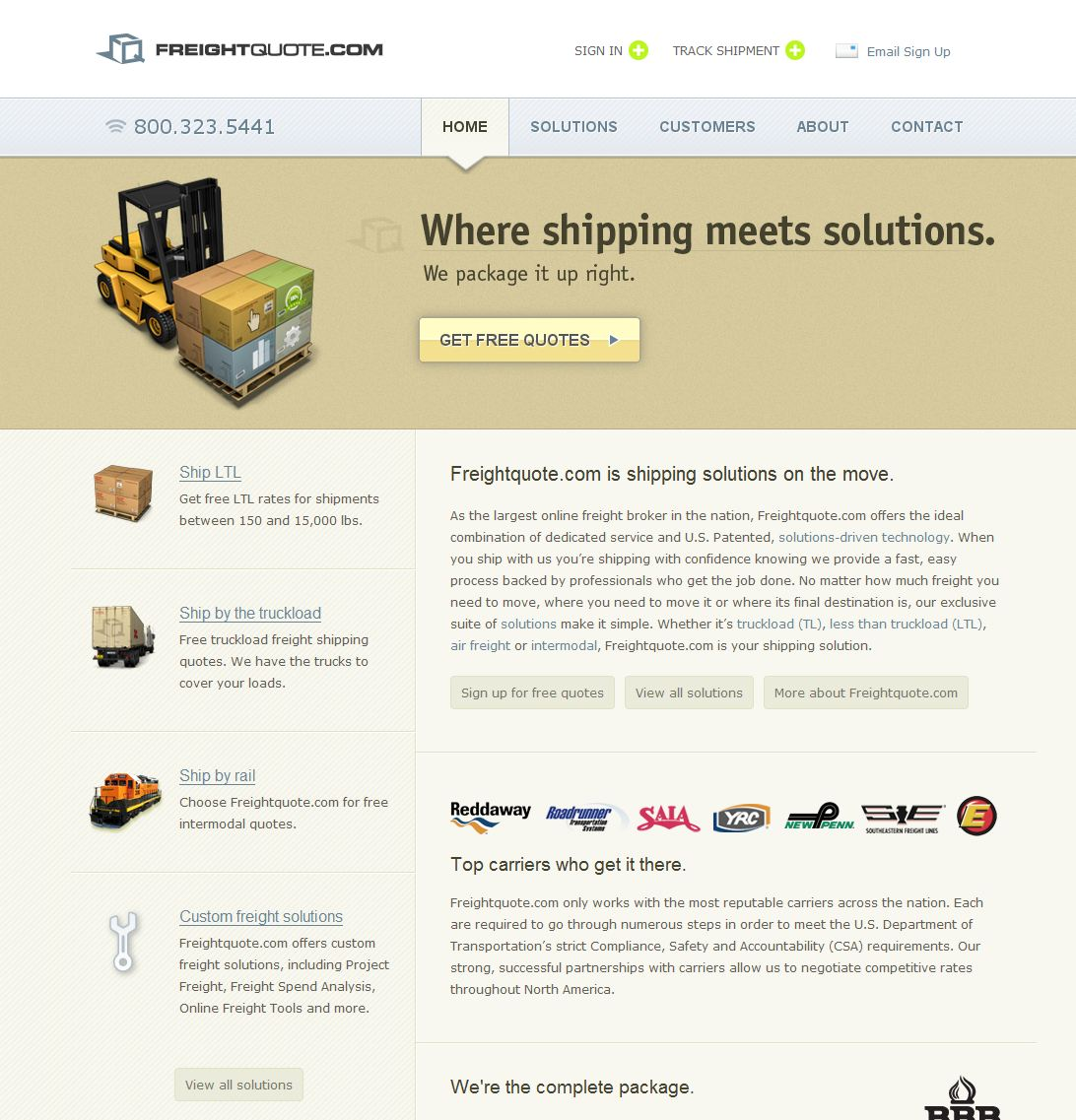 Freight Quote Com Freightquote Rated 15 Stars8 Consumers  Freightquote