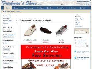 Friedman's Shoe