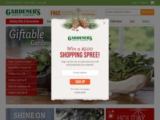 Gardeners Supply Co Rated 35 stars by 7 Consumers gardeners