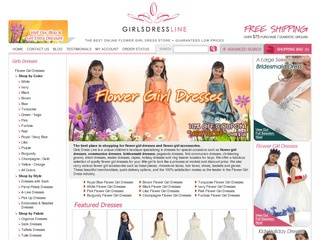 Girls Dress Lin