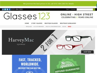 Glasses123.co.u