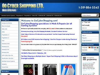 Go Cyber  Shop!