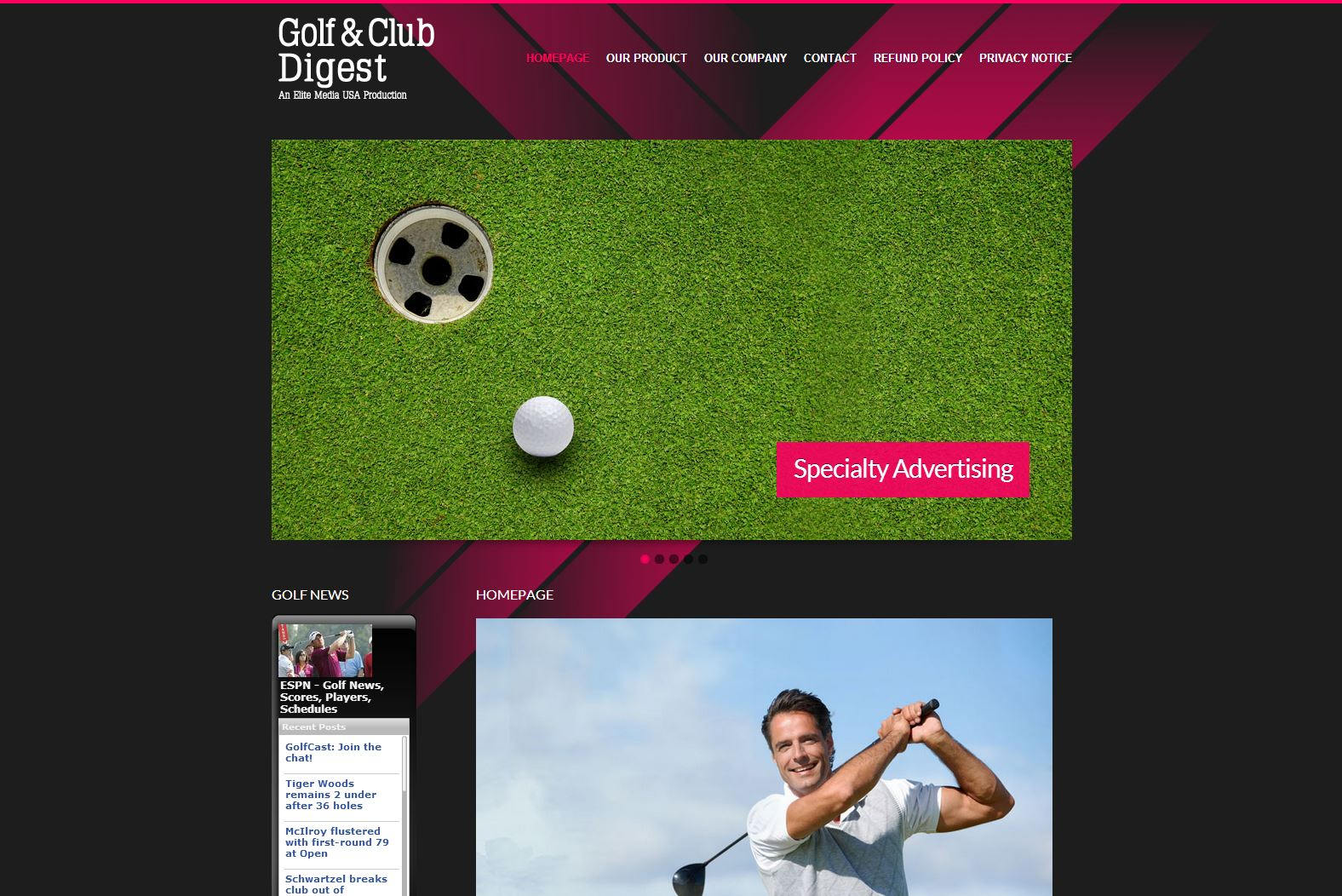 Golf and Club D