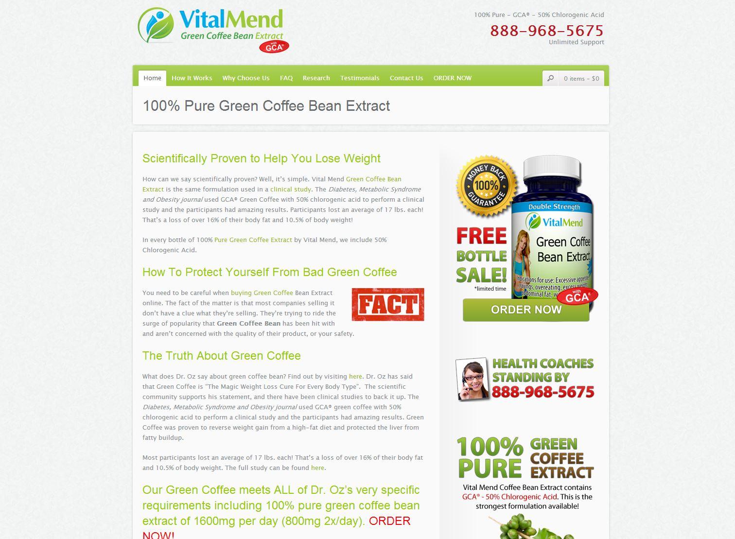Green Coffee Vi