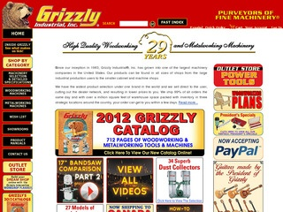 Grizzly Industrial Reviews | 17 Reviews of Grizzly com