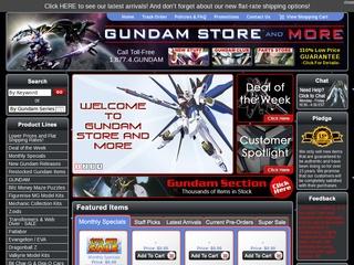 gundam store and more reviews 10 reviews of gundamstoreandmore com