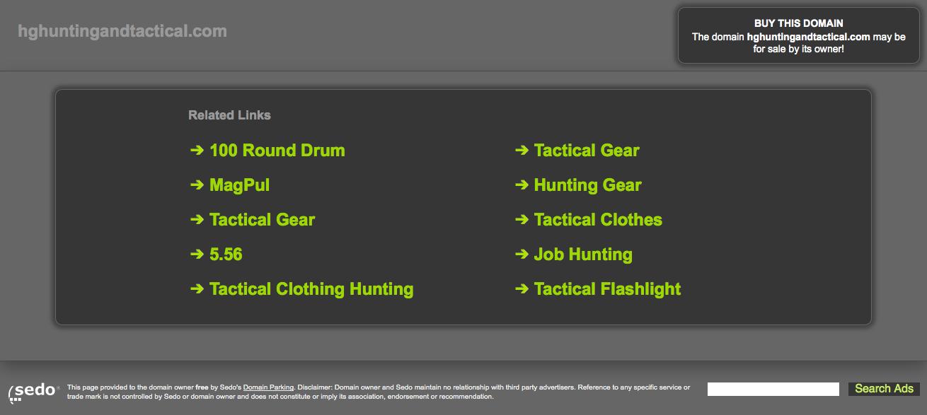 HG Hunting and