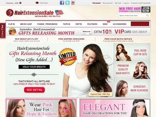 Hairextensionsale rated 55 stars by 21 consumers hairextensionsale rated 55 stars by 21 consumers hairextensionsale consumer reviews at resellerratings pmusecretfo Images