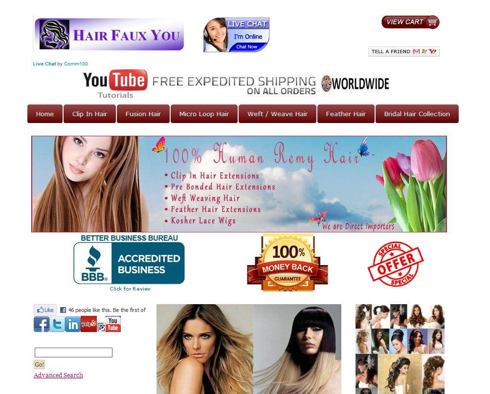 Hairfauxyou.com