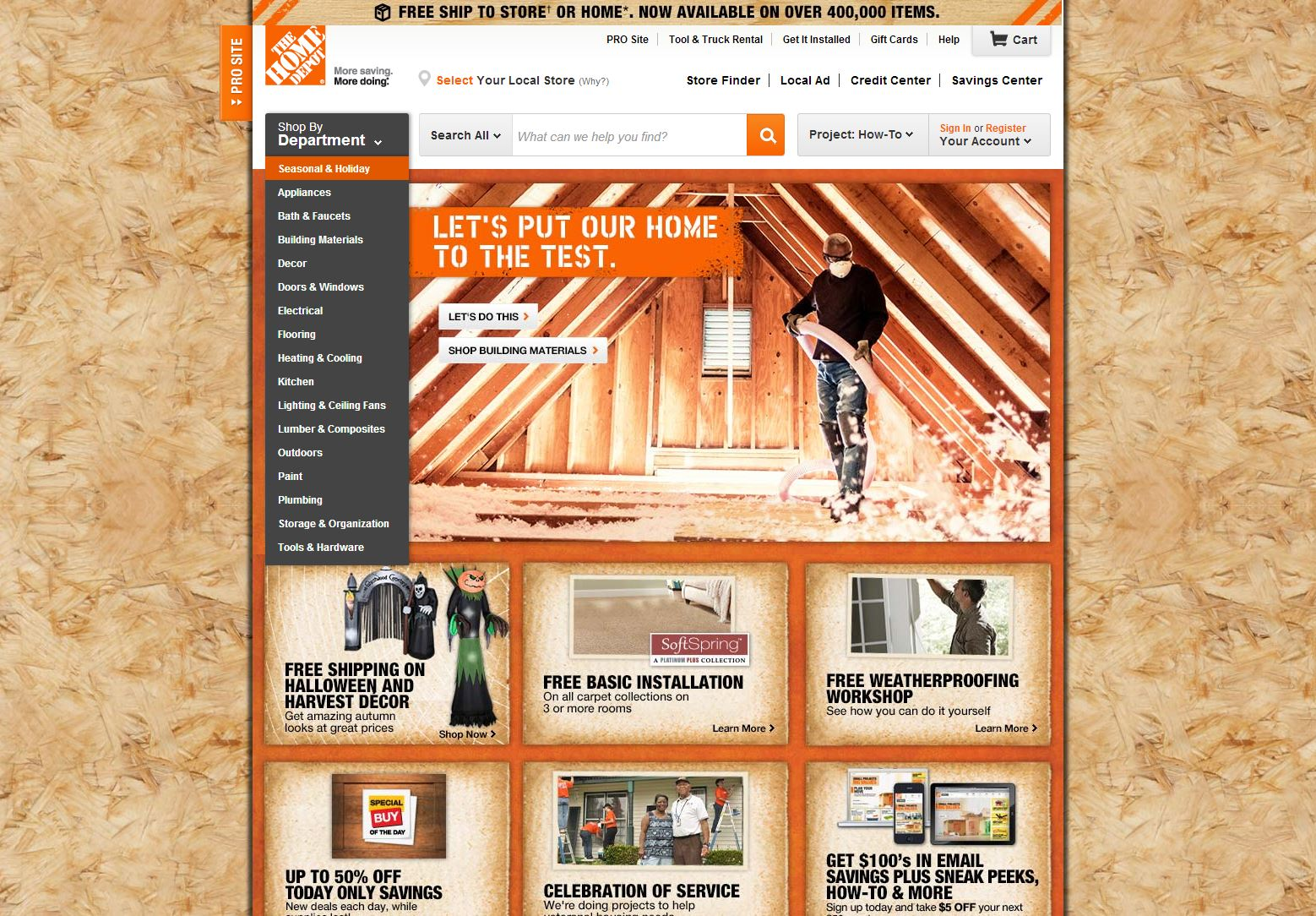 Home depot reviews 2 954 reviews of for Shop home depot