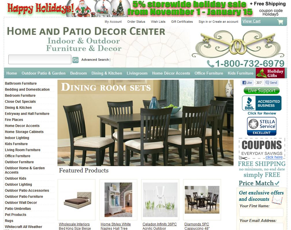 Furniture Store | Home and Patio Decor Center
