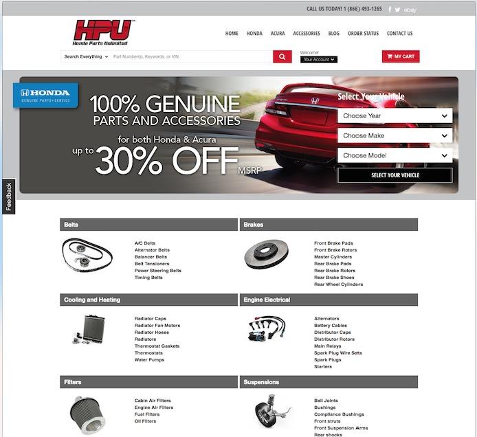 Honda Parts Unl