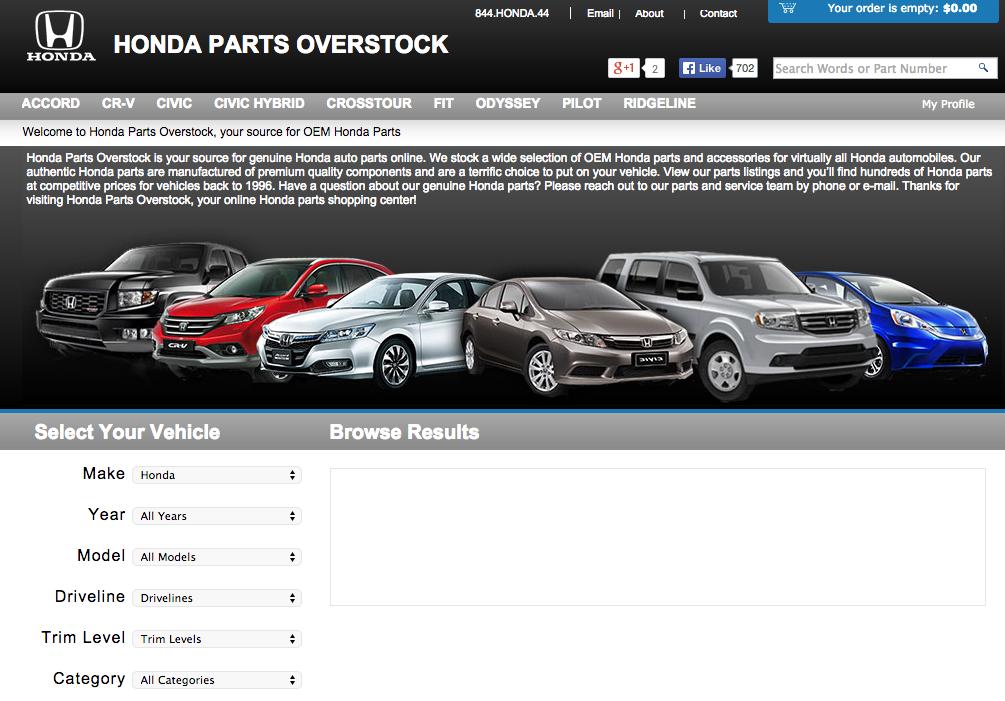 Hondapartsovers