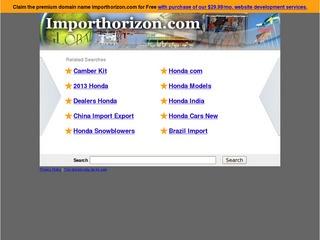 Import Horizon