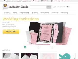 Invitation Duck