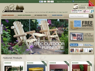 Exceptional JHEu0027s Log Furniture Place