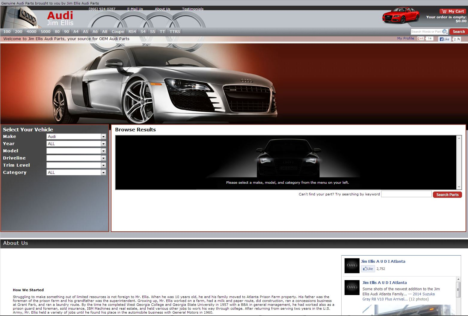 jim ellis audi parts rated 5 5 stars by 131 consumers. Black Bedroom Furniture Sets. Home Design Ideas