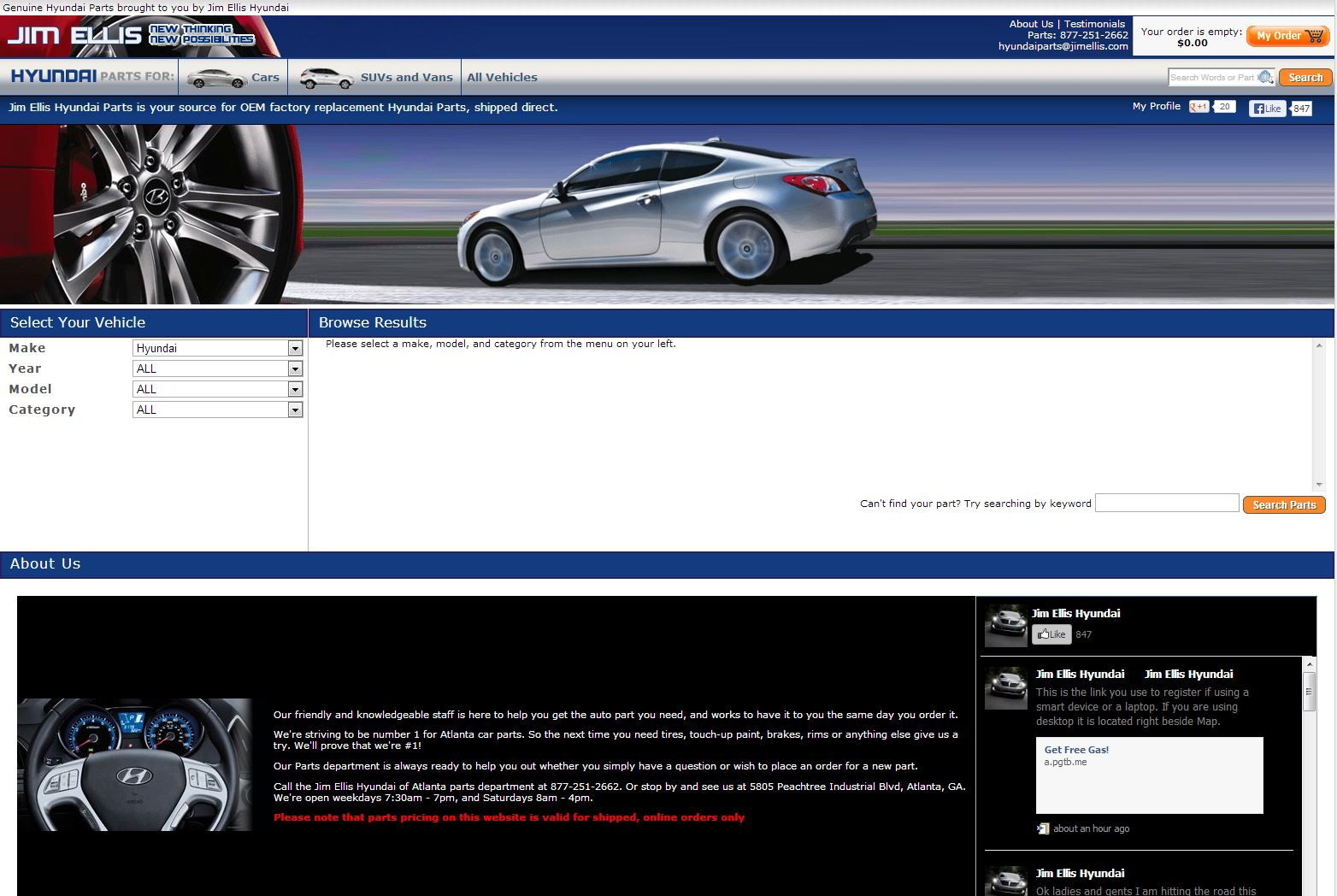 Beautiful Jim Ellis Hyundai Parts Reviews | 93 Reviews Of Jimellishyundaiparts.com |  ResellerRatings