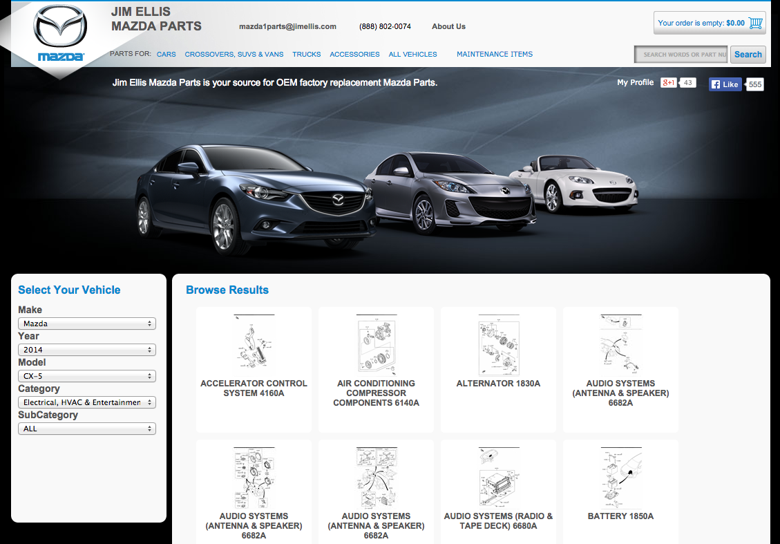 Jim Ellis Mazda Parts Reviews | 201 Reviews Of Jimellismazdaparts.com |  ResellerRatings