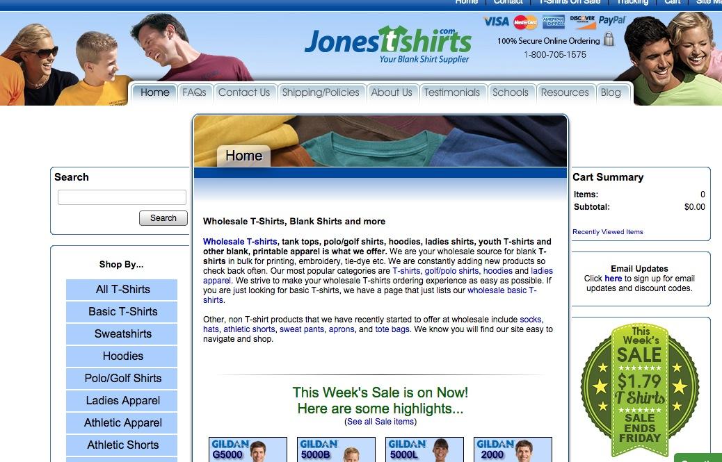 JonesTshirts.co