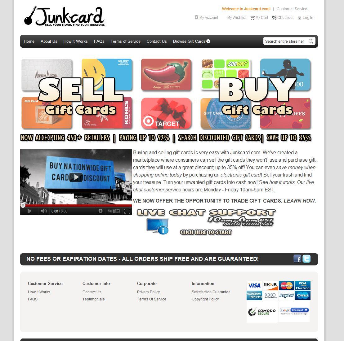Junkcard.com