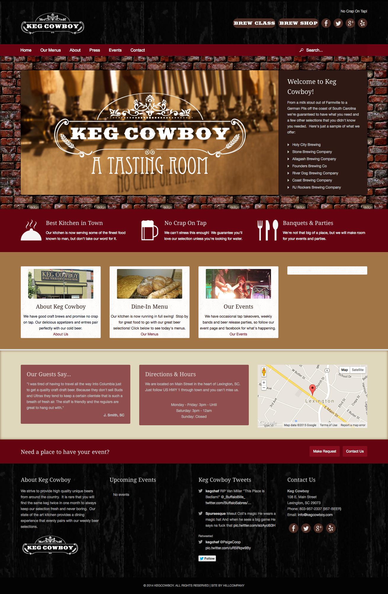 Keg Cowboy